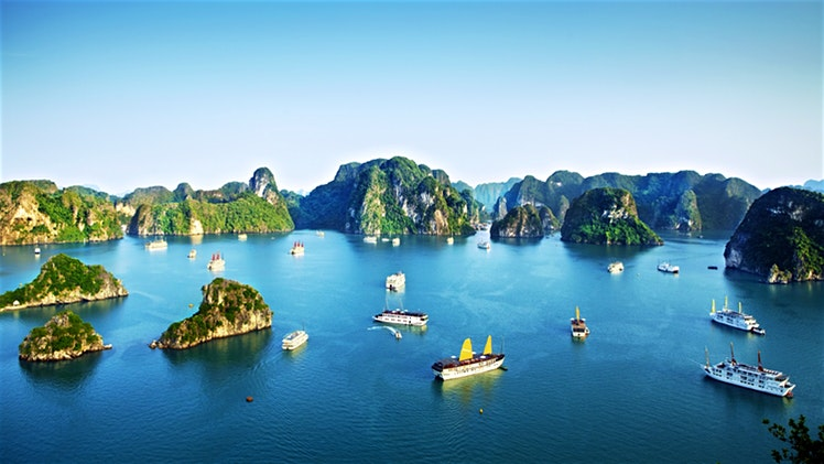 Ha Long Bay has twice been recognized by UNESCO as a World Natural Heritage Area for its breath-taking beauty and universal geological and geomorphic values. Its beauty has been an inspiration for several Vietnamese songs, poems and fairy tales.