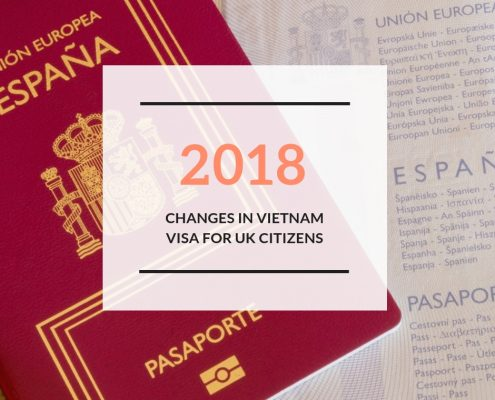 Changes in Vietnam visa for Spanish citizens 2018
